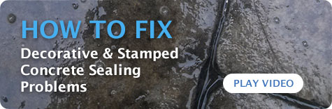 how to fix sealing problems