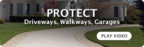 protecting driveways, walkways, garages